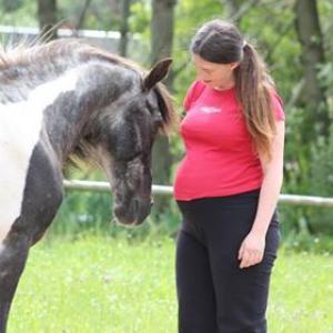 Schwangere und ihre Pferde
