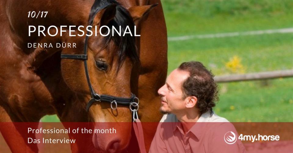 Professional of the Month Oktober 2017 Denra Dürr