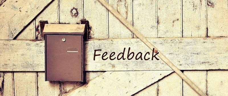 Gutes Feedback erfreut und bringt weiter