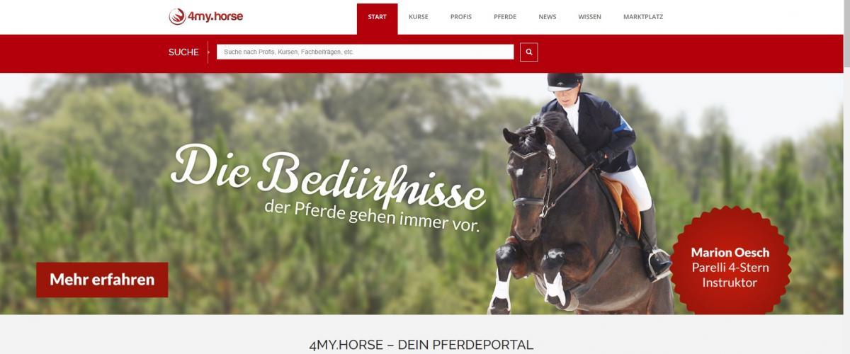 4my.horse Screenshot