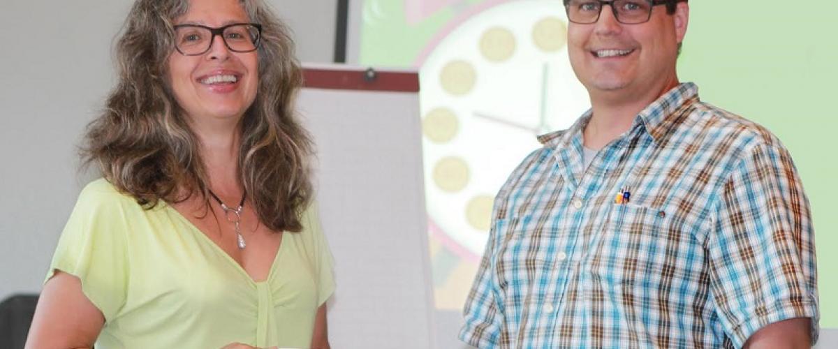 Beatrice Hohl und Christian Lüthi führten durch die Pferdekonferenz